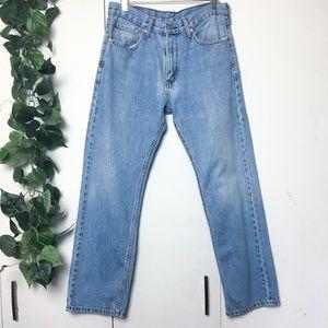LEVI's Vintage Blue High Waisted Mom Jeans